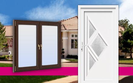 Fenster, Haustüren